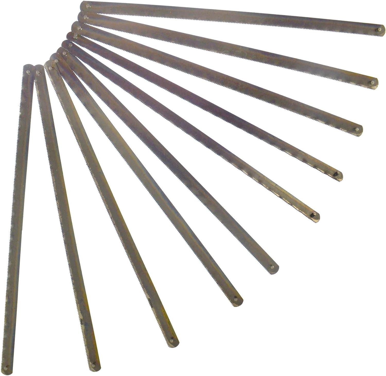 """10 Paquets 32 TPI 6/"""" 150mm Lames de scie à métaux Junior lot de 100 lames"""