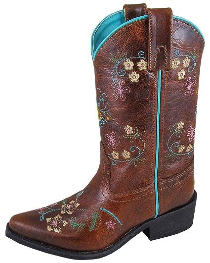 6e2ca4972 Amazon.com: Smoky Mountain Boys' Snake Print Cowboy Boot Round Toe ...