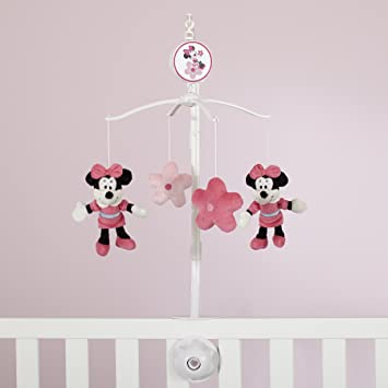 eafd610e18bd Disney Minnie Mouse Sitting Pretty Musical Mobile