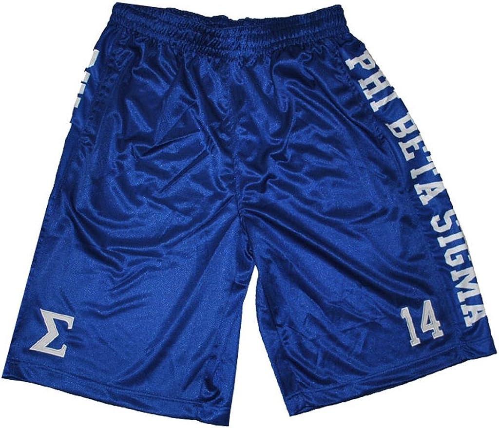 Phi Beta Sigma Basketball Shorts