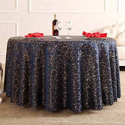 Exhibition Stand Tablecloths : Amazon.com: sed household round table cover simple solid color hotel