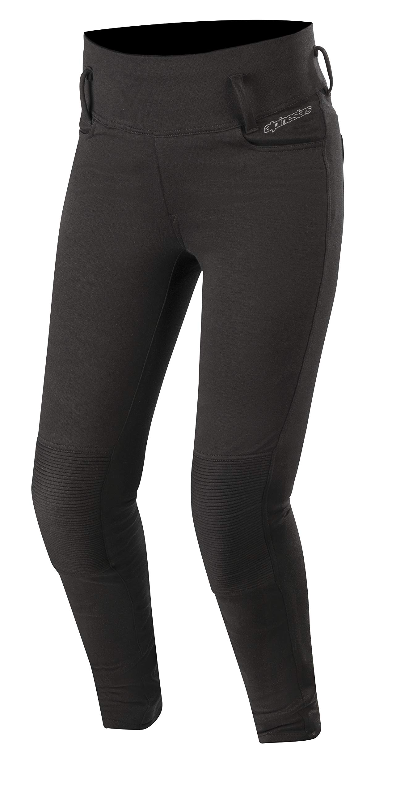 Banshee Women's Protective Motorcycle Leggings (Medium, Black)