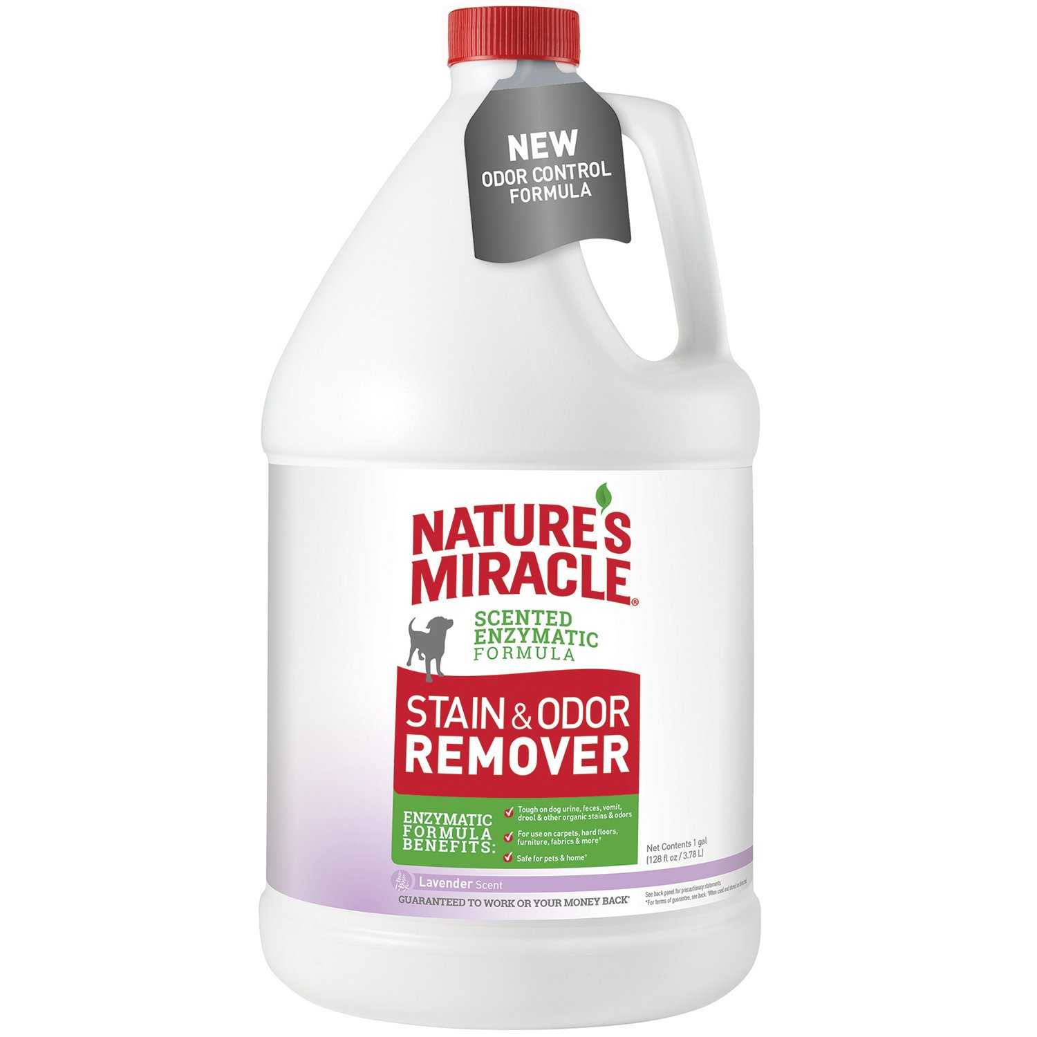 Nature's Miracle P-96970 Dog Stain and Odor Remover, Lavender