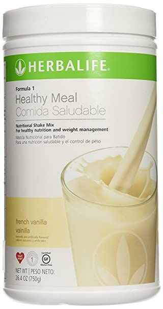 Herbalife Formula 1 Healthy Meal Nutritional Shake Mix French Vanilla (750g)