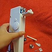 ARTISTORE Mini máquina de Coser, Herramienta de Costura rápida portátil de la máquina de Coser de la Mano para la Tela de la Ropa: Amazon.es: Hogar