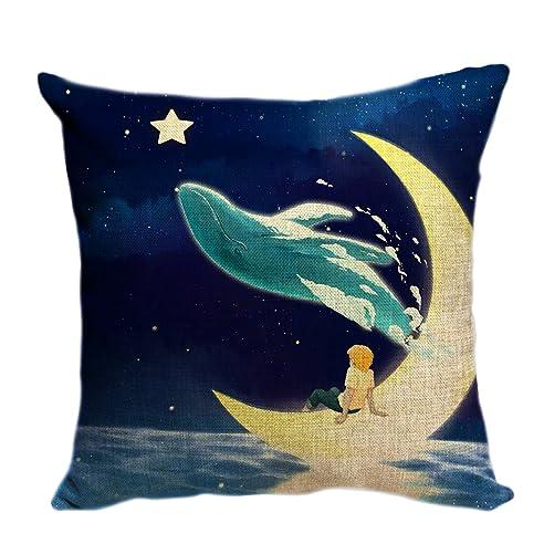 violetpos kissenhlle deko sofa zierkissenbezug auto zierkissenbezge kissenbezge kopfkissen kissen ein mrchen ein junge sitzt auf - Hai Kissen Muster