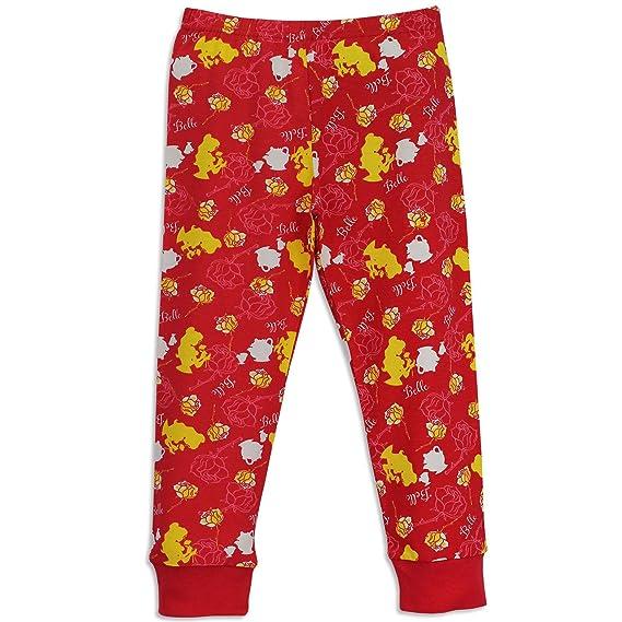 Princesas Disney - Pijama para niñas - Disney La bella y la bestia: Amazon.es: Ropa y accesorios