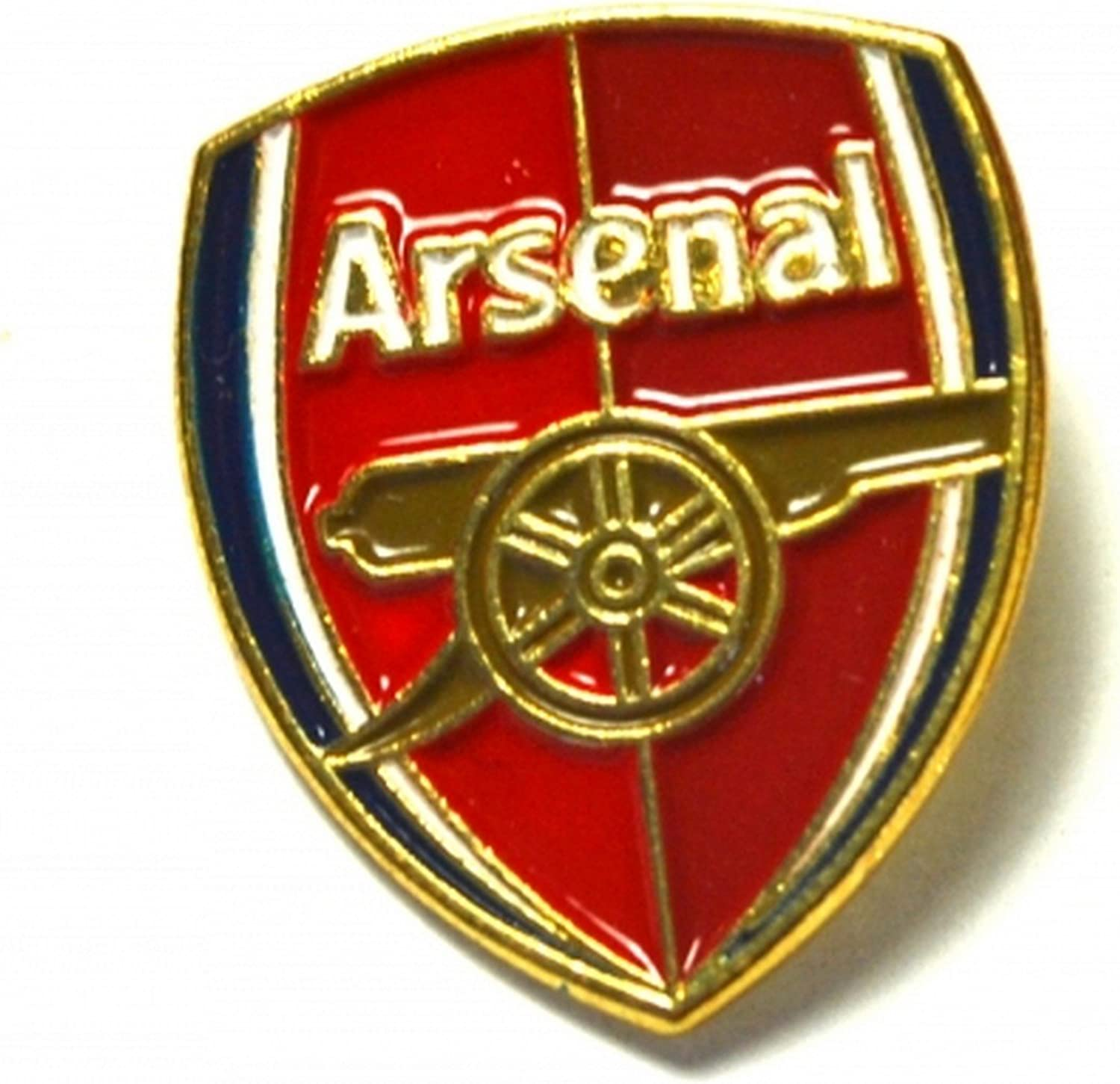Official Arsenal FC Enamel Crest Pin Badge New on Card