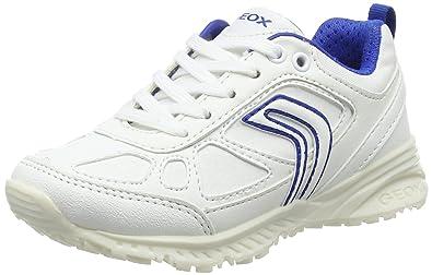 Amazon.com   Geox Boys' J Bernie E Trainers, White (White ...