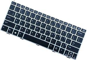 Comp XP New Genuine Keyboard for HP EliteBook Revolve 810 G1 810 G2 G3 US Backlit Keyboard 716747-001