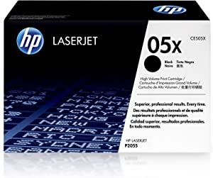 HP 05X | CE505X | Toner Cartridge | Black | High Yield