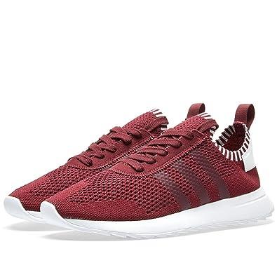 Adidas Women Flashback Primeknit FLB (burgundy / maroon / footwear white)  Size 8.0 US