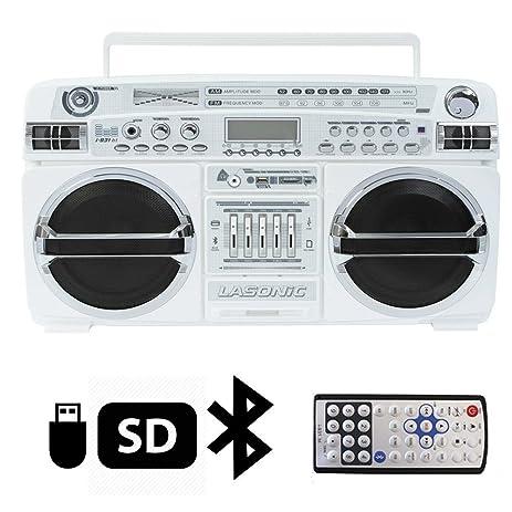 amazon com lasonic i 931bt portable am fm radio bluetooth ghetto rh amazon com Lasonic TRC-931 Lasonic TRC-931