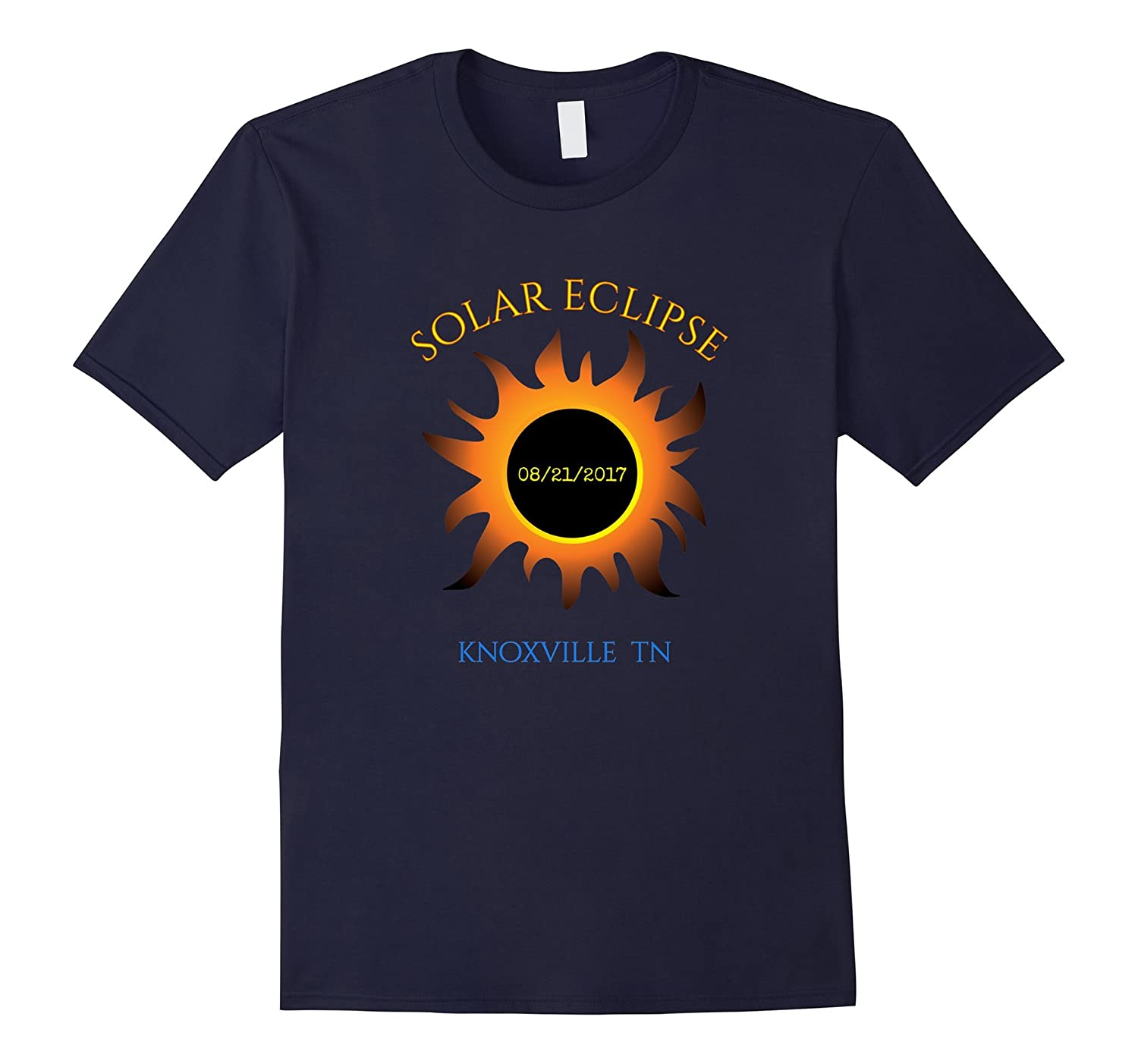 Knoxville TN Solar Eclipse t-shirt Tennessee tee-Art