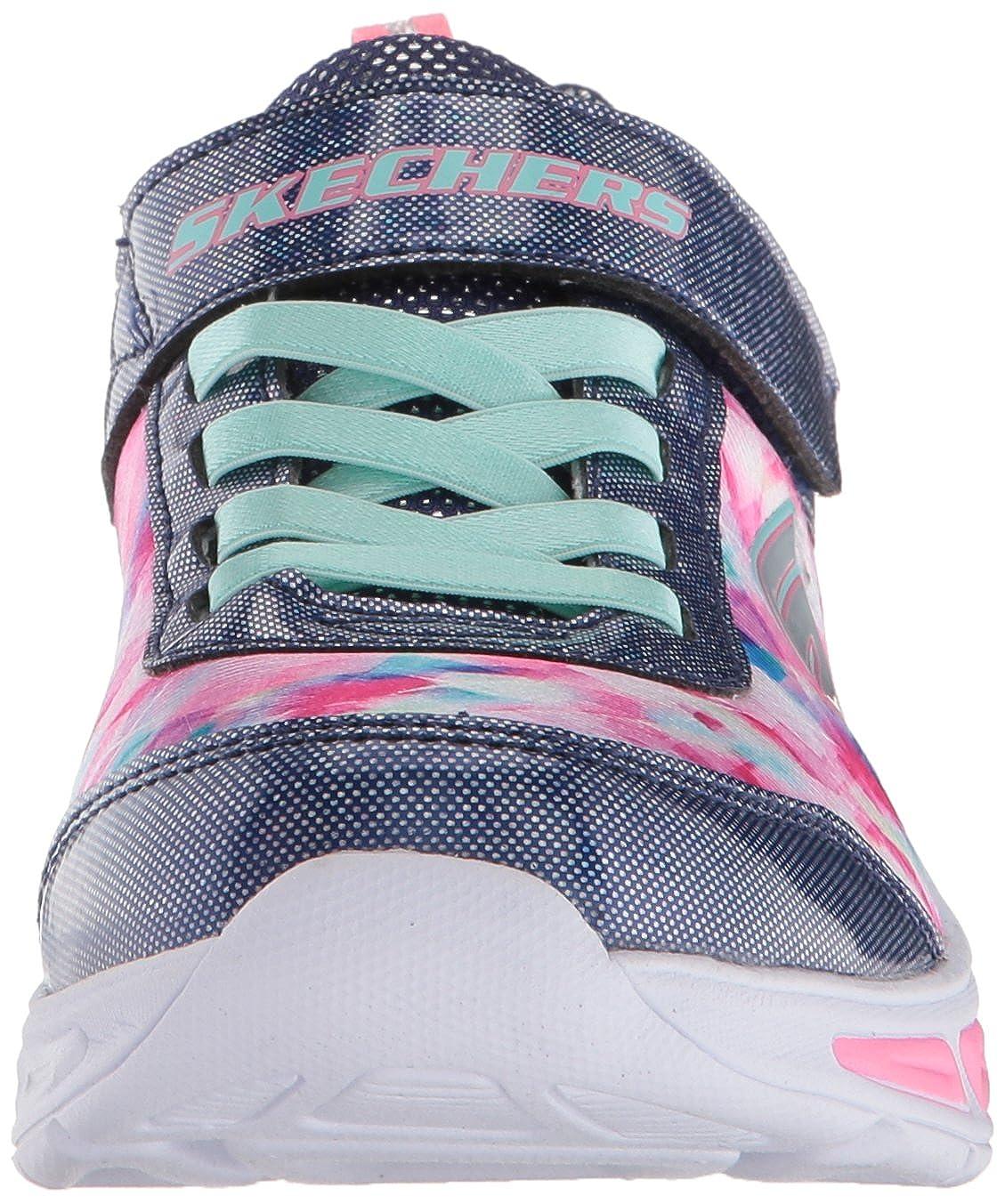 Skechers Kids Girls Litebeams-Dance NGlow Sneaker