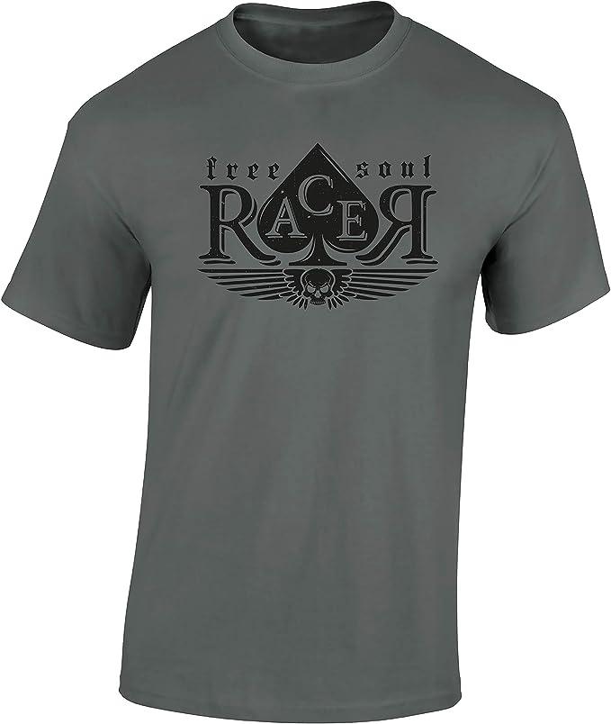 camiseta free soul racer