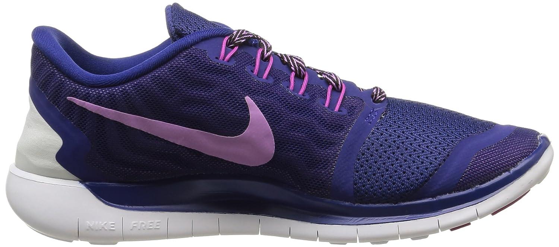 Nike Free 5.0  Damen Blau/Fuchsia Laufschuhe Mehrfabig (Deep Royal Blau/Fuchsia Damen Glow-fuchsia Flash) 0f8c42