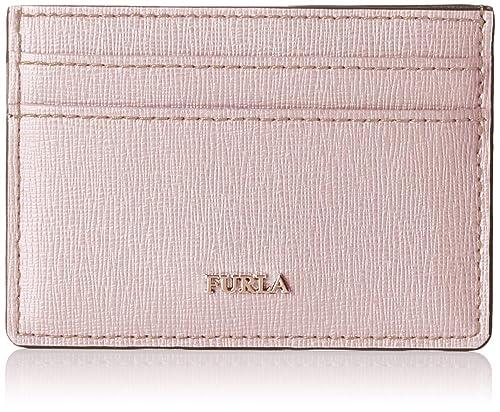 Furla - Babylon S Credit Card Case, Tarjeteros Mujer, Rosa ...