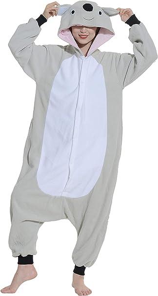 Unisex Animal Pijama Ropa de Dormir Cosplay Kigurumi Onesie Koala ...