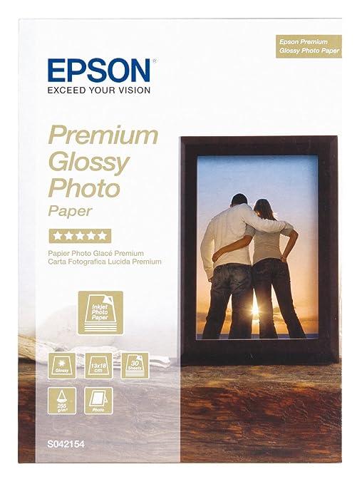 95 opinioni per Epson Super Carta Fotografica Lucida, 30 fogli, 13 x 18 cm