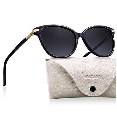 AVAWAY Grandes Polarizadas Mujer Gafas De Sol Protección ...