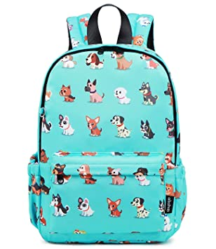94ebf3cdf228 Abshoo Little Kids Dog Toddler Backpacks for Boys and Girls Preschool  Backpack With Chest Strap (Dog Teal)