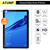 Simpeak 2 Pack Screen Protector Compatible with Huawei Mediapad M5 Lite Bubble Free Film clear 9H Hardness Tempered Glass Screen Protectors Replacement for Huawei Mediapad M5 Lite