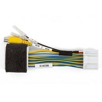 Kabel zum Anschluss einer Rückblickkamera an den Monitor Toyota ...