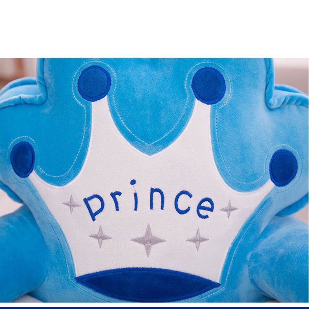 Amazon.com: MeMoreCool suave de peluche corona azul oscuro ...