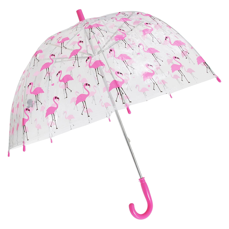 X-brella - Paraguas transparente con estampado animal para niños (Talla Única/Perro): Amazon.es: Ropa y accesorios