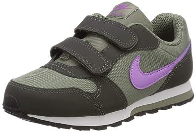 new styles 50a6e c8007 Nike Girls Md Runner 2 (PSV) Fitness Shoes, Multicolour (Dark Stucco