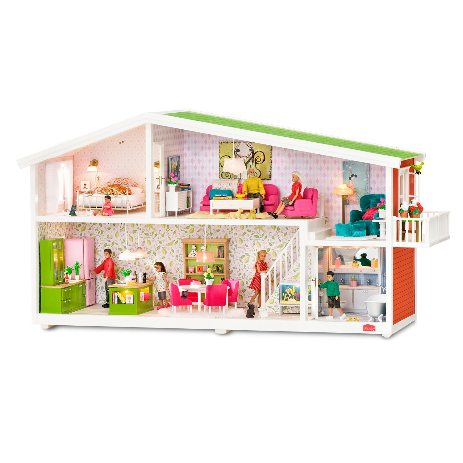 Lundby Smaland Dollhouse Electric Extension Cords Free Shipping