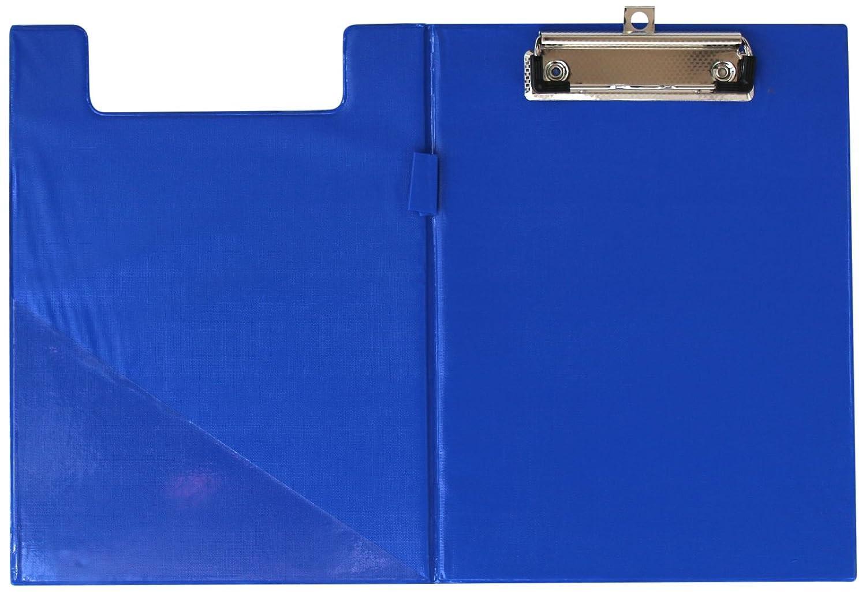 D.RECT 009567 Klemmbrettmappe A5 aus Kunststoff blau