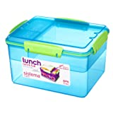 Sistema Lunch Tub Lunch Box, 2.3 L - Assorted Colours