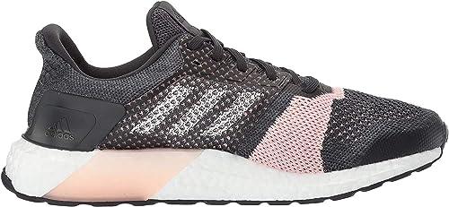 Adidas Performance Boost Ultra Calle zapatillas de running, gris / blanco / púrpura resplandor, 5 M: ADIDAS: Amazon.es: Zapatos y complementos