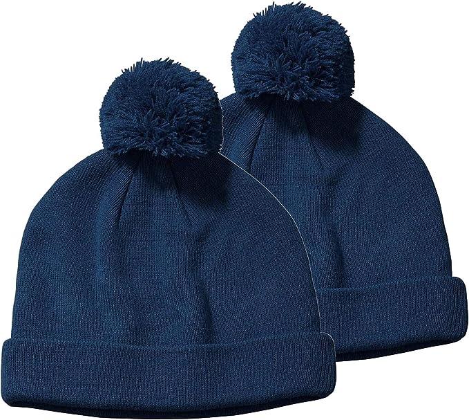Marky G Apparel Unisex-Adult Two-Tone Marled Beanie Beanie Hat