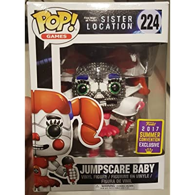 Five Nights at Freddys Sister Location Funko POP! Games Jumpscare Baby Exclusive Vinyl Figure #224: Toys & Games