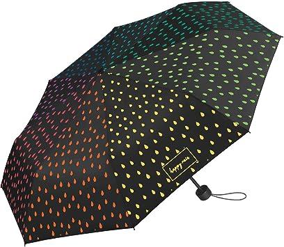 Paraguas de Color Negro Que Cambia de Color Cuando llueve Mini-taschenschirm Handöffner 95 cm: Amazon.es: Equipaje