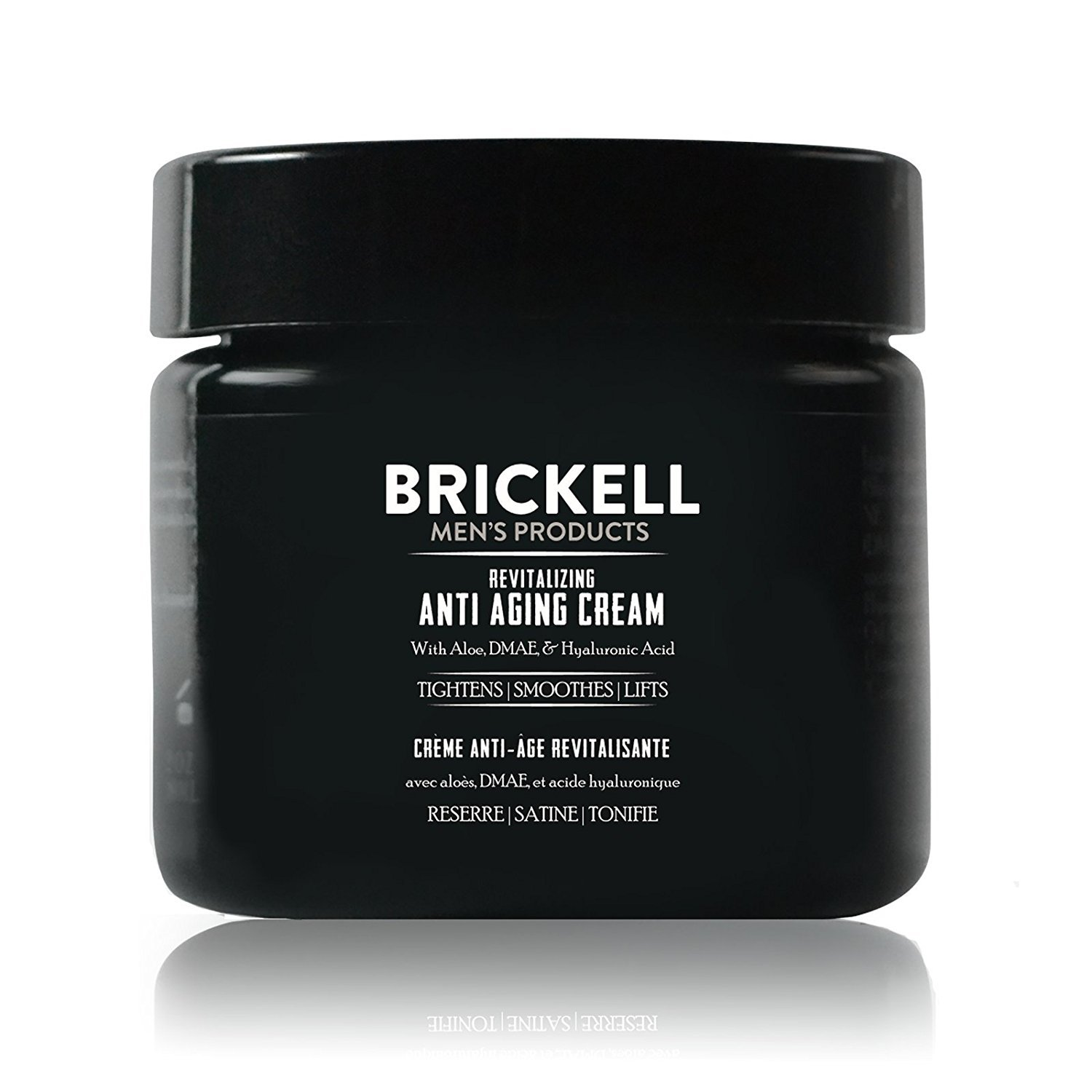 Brickell Men's Revitalizing Anti-Aging Cream For Men, Natural & Organic Anti Wrinkle Night Face Cream - 2 oz - Unscented