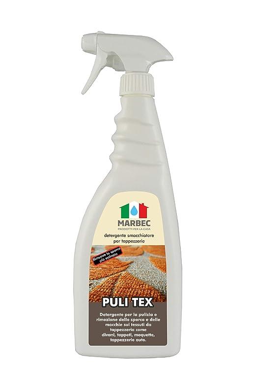 Marbec – Puli Tex, 750 ml, limpiador para tapicería, sofás y ...
