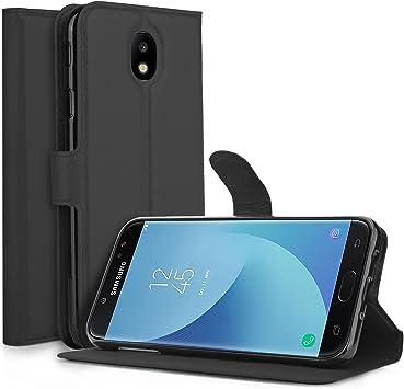 Funda Samsung Galaxy J7 2017 Carcasa,KuGi Slim Flip Cover Carcasa ...
