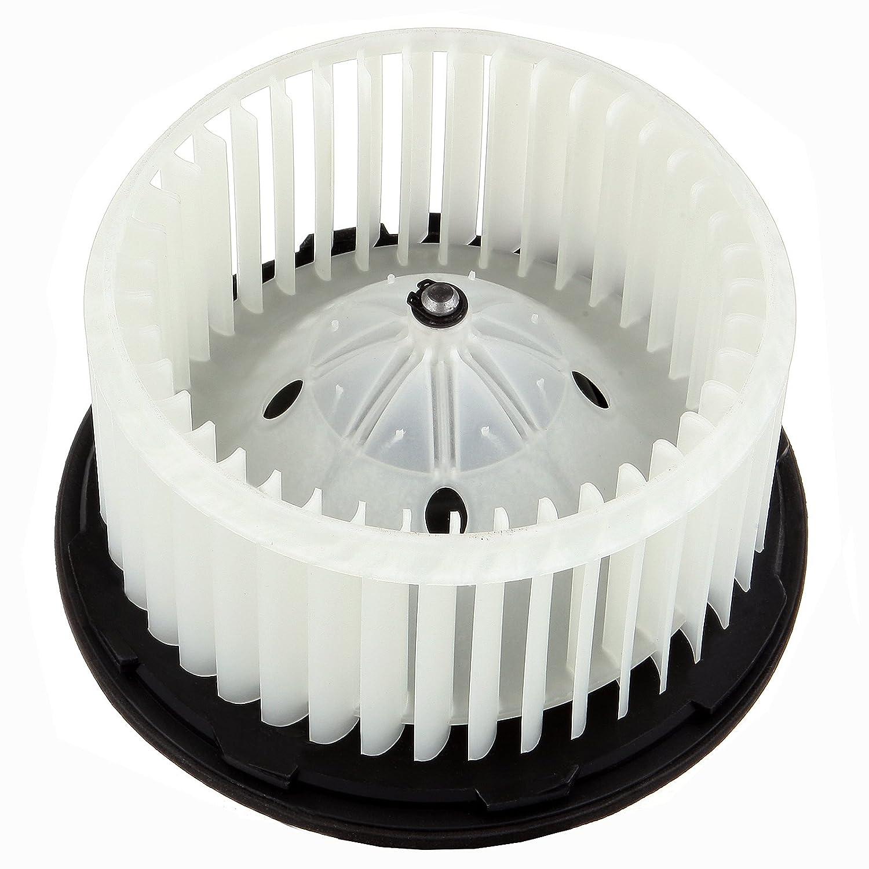 HVAC plastic Heater Blower Motor w/Fan ABS Cage ECCPP for 2007-2014 Cadillac Escalade/ 2007-2013 Cadillac Escalade ESV /2007-2014 Chevrolet Silverado 2500/2500 HD/3500 HD/Chevrolet Suburban 1500