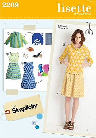 f6bd989a130 Image Unavailable. Image not available for. Color  Simplicity Sewing Pattern  2209 Misses  Dresses ...
