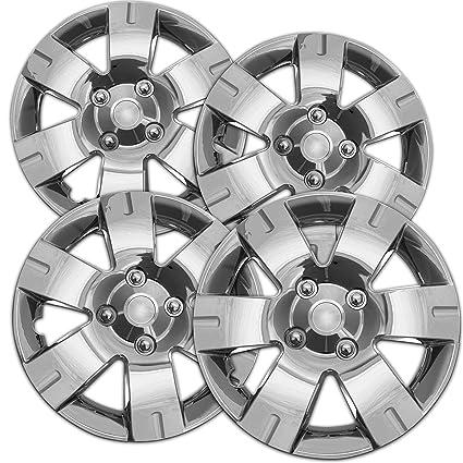 Tapacubos para Nissan Sentra (Pack de 4) – Cubiertas de ruedas 15 pulgadas,