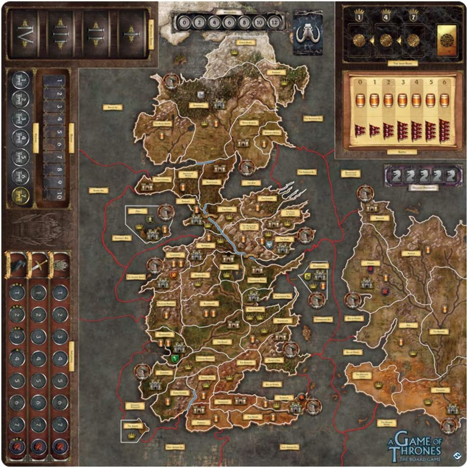 Mother of Dragons Expansion A Game of Thrones Board Game