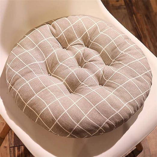 YDMR Espesar Cojines para sillas de Cocina Tela de Felpa Cojines ...