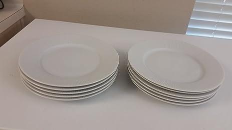 Yves Deshoulieres Porcelaine Apilco France 11-Piece 10.8-Inch Dinner Plate Set & Amazon.com | Yves Deshoulieres Porcelaine Apilco France 11-Piece ...