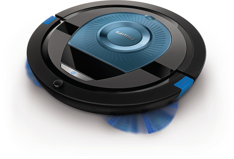 Philips SmartPro Compact Robot aspirador FC8774/01 - Aspiradoras robotizadas (Sin bolsa, Azul, Alrededor, 0,3 L, 58 dB, 1,8 cm): Amazon.es: Hogar