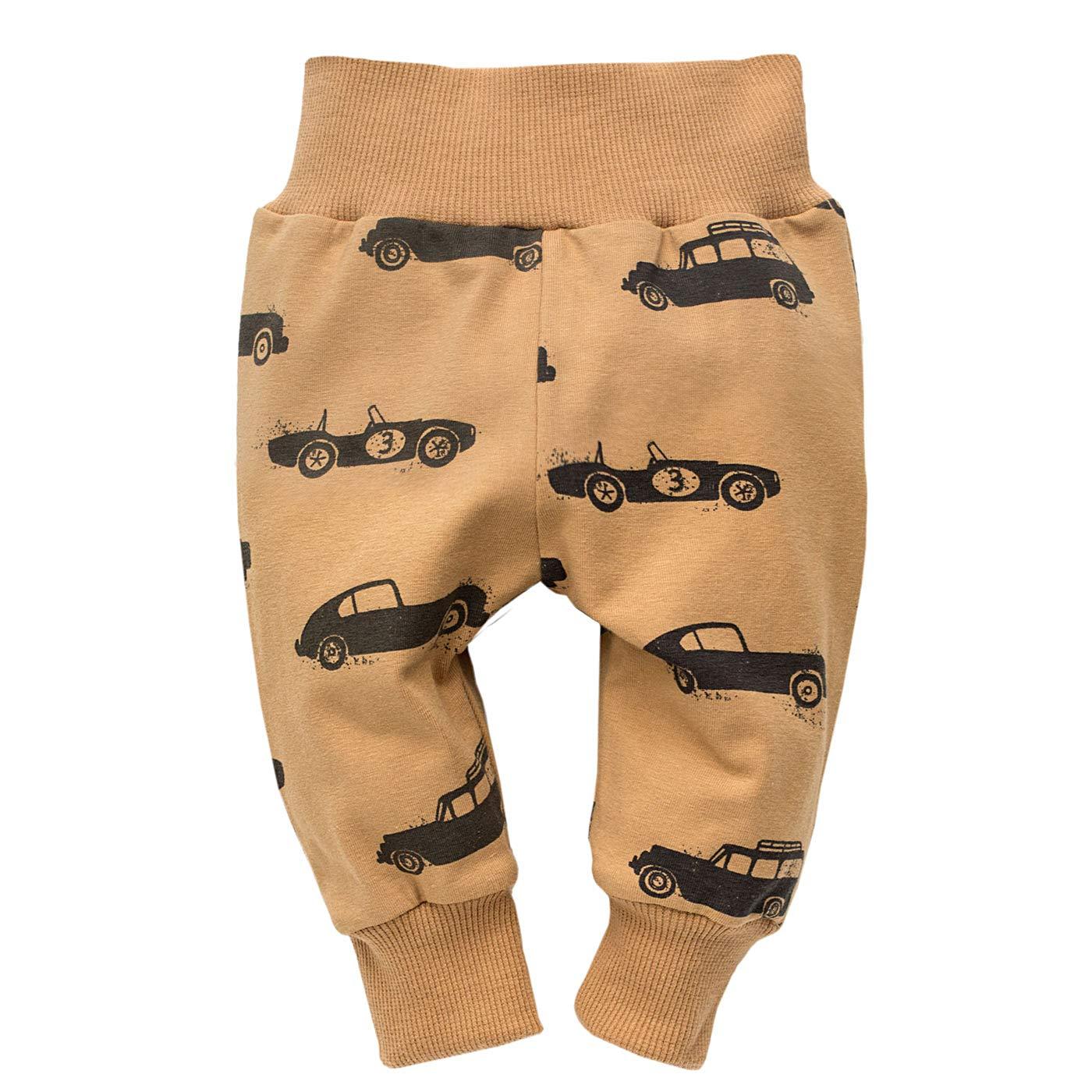 Hergestellt in EU FLIKEFASHION-PINOKIO OLD CARS Baby-Jungen Leggins Kinder Baumwolle Legging Kinder Hose