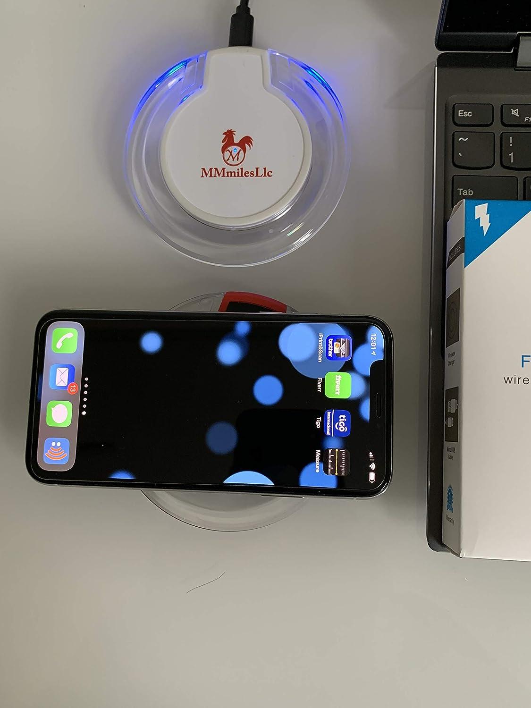 Amazon.com: MmmilesLlc Universal Wireless Charger Qi ...